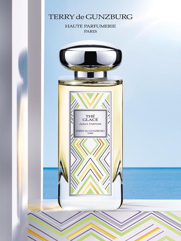 Thé Glacé Aqua Parfum, la nouvelle fragrance fraîche et pétillante signée Terry de Gunzburg