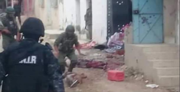 En photo : Les deux terroristes abattus à Kasserine