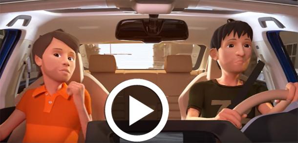 En vidéo : Une campagne de sensibilisation lancée par le MI sur l'obligation du port de la ceinture de sécurité