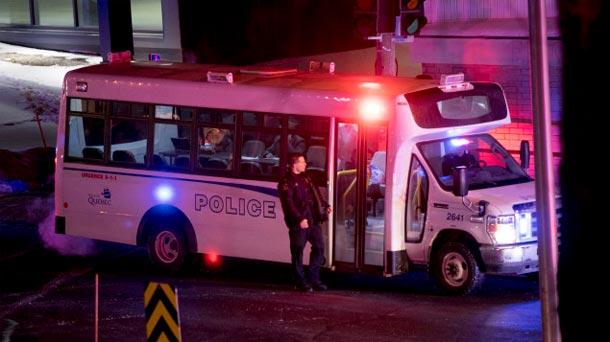 Fusillade dans une mosquée : ''Québec est en deuil''
