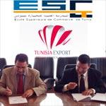 Convention de partenariat entre le CEPEX et l'Ecole Supérieure de Commerce de Tunis