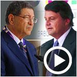 En vidéos : Discours de Habib Essid et Carlo Calenda à propos du soutien de l'Italie à la Tunisie