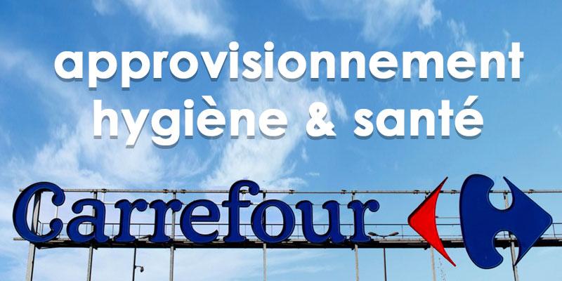 Carrefour se mobilise et rassure pour le réapprovisionnement