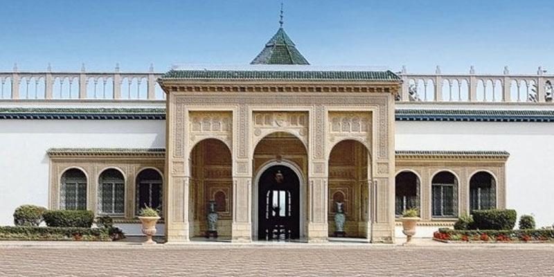 Des habitants de Jelma se dirigent vers le palais de Carthage à pied