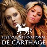 Shakira et Adèle confirmées au festival de Carthage 2014