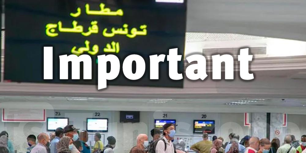 Coronavirus : Nouvelles mesures d'entrée en Tunisie