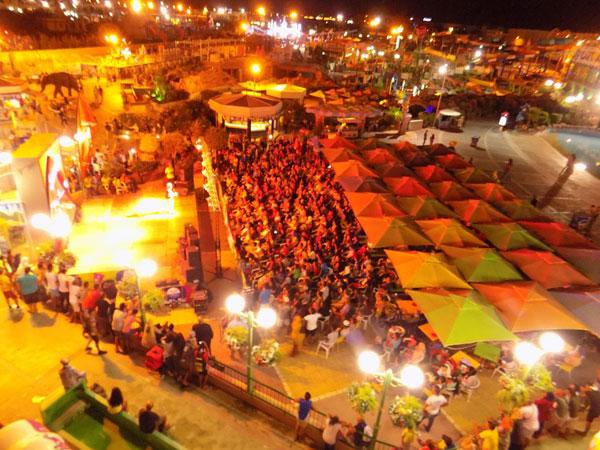 3 ème édition du festival du Parc d'attractions Carthage Land les berges du lac
