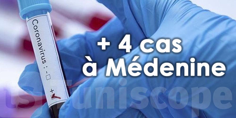4 nouveaux cas locaux à Médenine