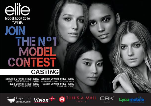 Vous voulez devenir mannequin ? Voici tous les détails sur les castings Elite Model Look Tunisie 2016