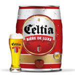 Avec le 'slogan le sens du partage' CELTIA lance son nouveau fût de 5 litres