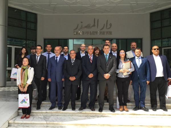 Une importante délégation espagnole visite le Cepex