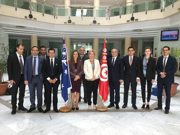 Visite d'une délégation australienne au CEPEX Pour écrire une nouvelle page dans les relations commerciales bilatérales