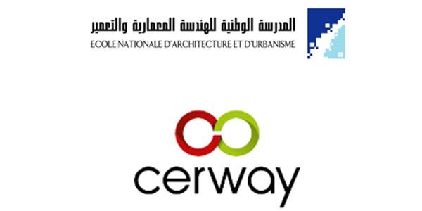 Convention de partenariat entre L'Ecole Nationale d'Architecture et d'Urbanisme ET CERWAY