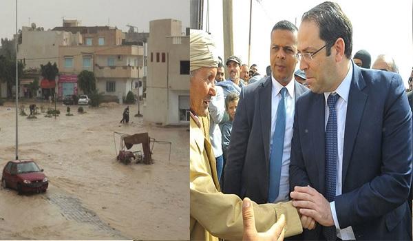 Dès son retour d'Égypte, Chahed atterrit à Gabès