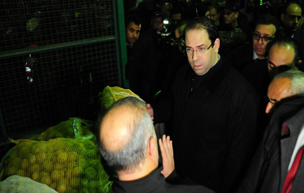 يوسف الشاهد لتاجر محتكر للبطاطا في بئر القصعة: شنوة باش تشكيلي تي أنا باش نشكي بيك