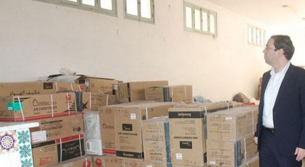 الشاهد يقدّم مساعدات لعائلات معوزة تضررت من الفيضانات بالمنستير