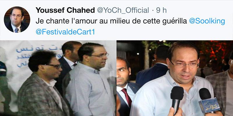 Youssef Chahed répond par un tweet à la situation politique actuelle