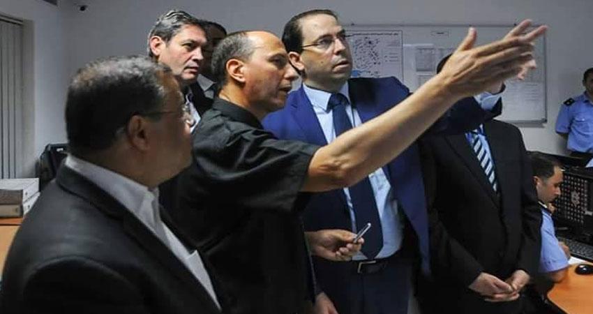 صور من داخل قاعة العمليات المركزية للحماية المدنية