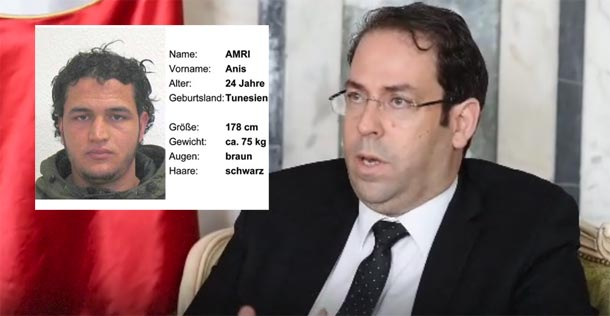 Youssef Chahed : Anis Amri a été radicalisé en Europe, nous n'avons pas exporté un terroriste