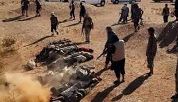 'Daech' exécute plus de 280 civils, à Mossoul, en Irak et les jette dans un charnier