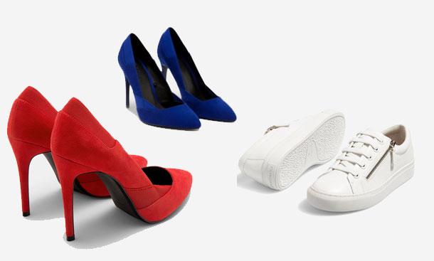 5 paires de chaussures tendance à moins de 70 dinars…