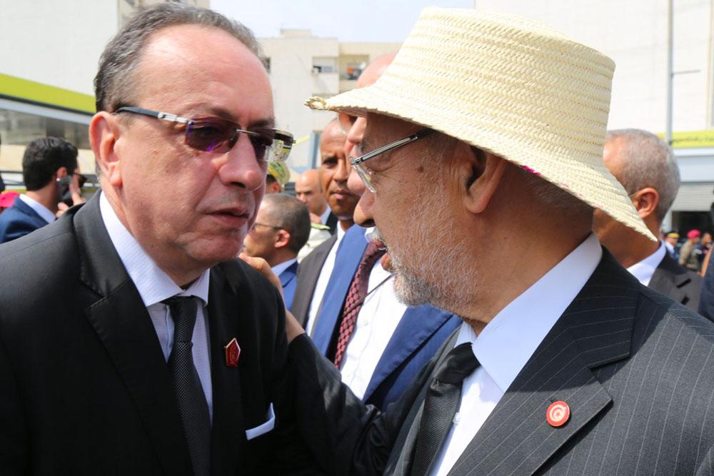En photos : L'adieu des deux Cheikhs