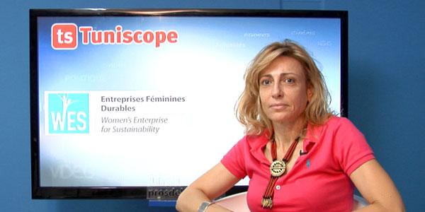 En vidéo: Chéma Gargouri présente WES ( Women's Entreprise for Sustainbility