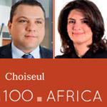 Mohamed Bridaa et Safia Hachicha dans le classement 100 Africa de Choiseul