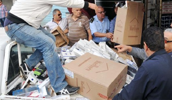 Vingt-cinq mille paquets de cigarettes de contrebande ont été saisis à Ben Gardane