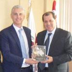 En photos : La Chambre Tuniso-Britannique visite la Chambre de Commerce et de l'Industrie de Tunis