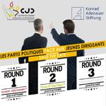 Les Partis Politiques face aux Jeunes Dirigeants lors de 3 rencontres