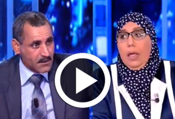 En vidéo : Clash entre Fayçal Tebbini et Yamina Zoghlami lors d'une émission