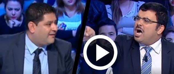 En vidéo : Clash entre Khaled Chouket et Walid Jalled
