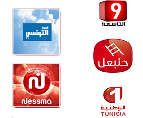 Classement des principales chaînes TV sur YouTube  au cours du 1er jour de ramadan