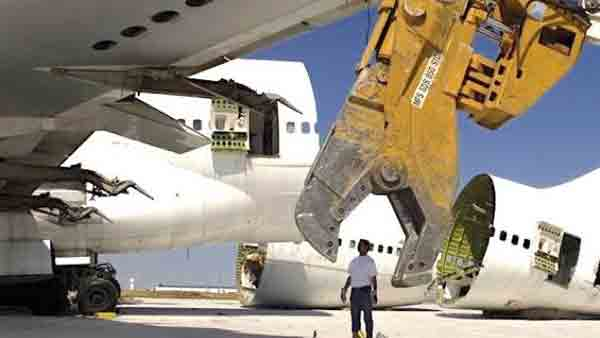 Le CNAC donne son accord pour la création d'une société de démantèlement d'avions