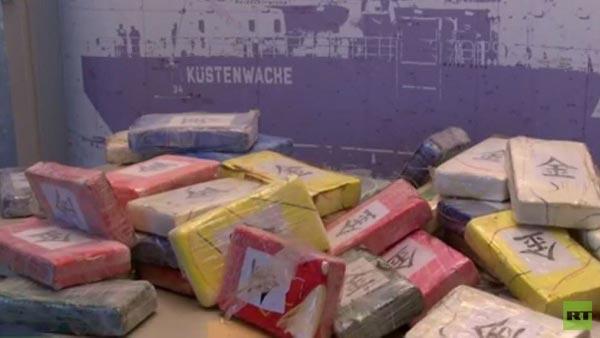 مصادرة كميات هائلة من الكوكايين في ميناء هامبورغ