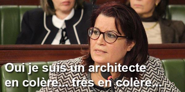 Les architectes furieux contre les propos de Samira Meraï