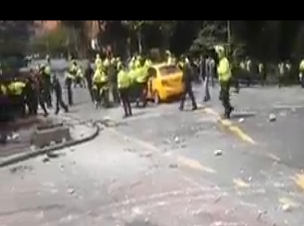 انفجار عنيف يهز العاصمة الكولومبية