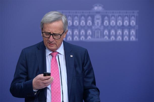 Le président de la Commission européenne Jean-Claude Juncker : ''Je n'ai toujours pas de smartphone…