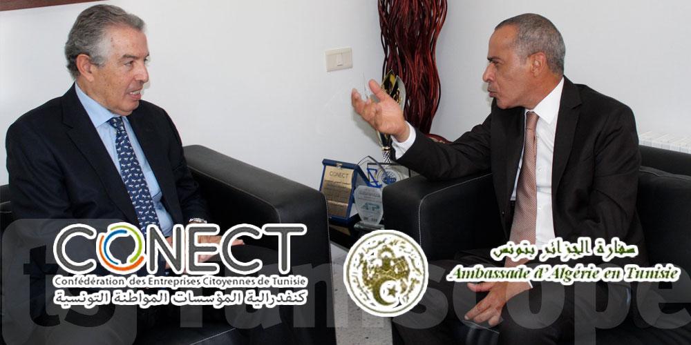 Conect partenaire de projets à la zone frontalière avec l'Algérie