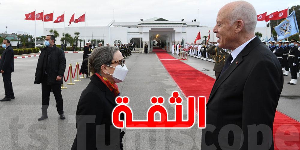 72 % من التونسيين يثقون في قيس سعيد