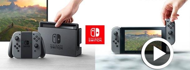 En vidéo : Nintendo dévoile sa nouvelle console Switch