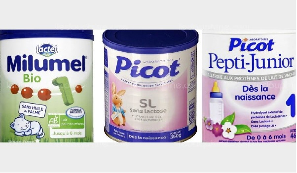 Du lait infantile rappelé pour risque de contamination par des salmonelles
