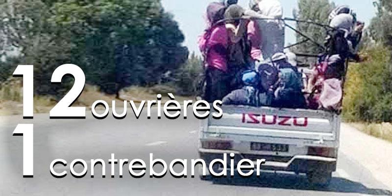 Les Douze travailleurs agricoles blessés par un contrebandier