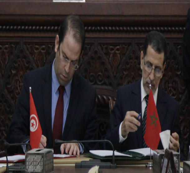 اتفاقيات مشتركة تتوج الدورة 19 للجنة الكبرى المشتركة التونسية المغربية