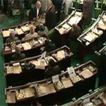 Le coran devant chaque membre de l'Assemblée Nationale Constituante