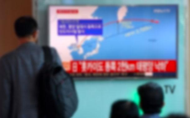 La Corée du Nord fait fi de l'ONU et tire un missile au-dessus du Japon