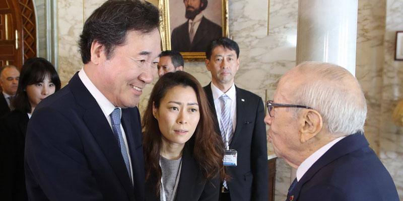 Béji Caid Essbsi : Pour moi la Corée du Sud est un exemple