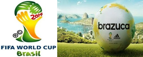 Le ballon officiel de la coupe du monde fifa 2014 baptis brazuka - Ballon de la coupe du monde 2014 ...