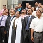 Photo du jour : Après le dépôt de la candidature de Marzouki, le CPR regarde en haut